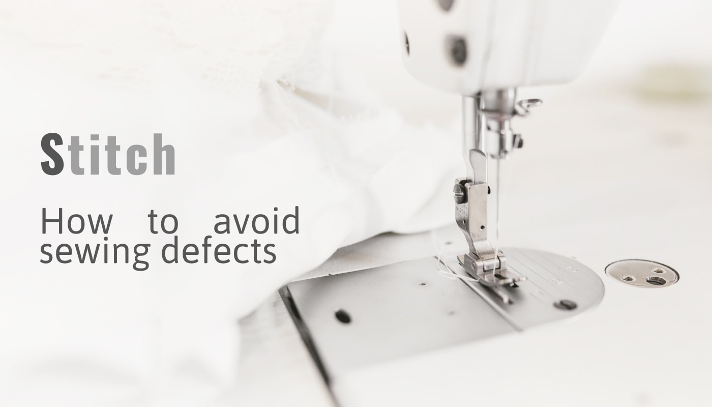 Stitch avoid sewing defects