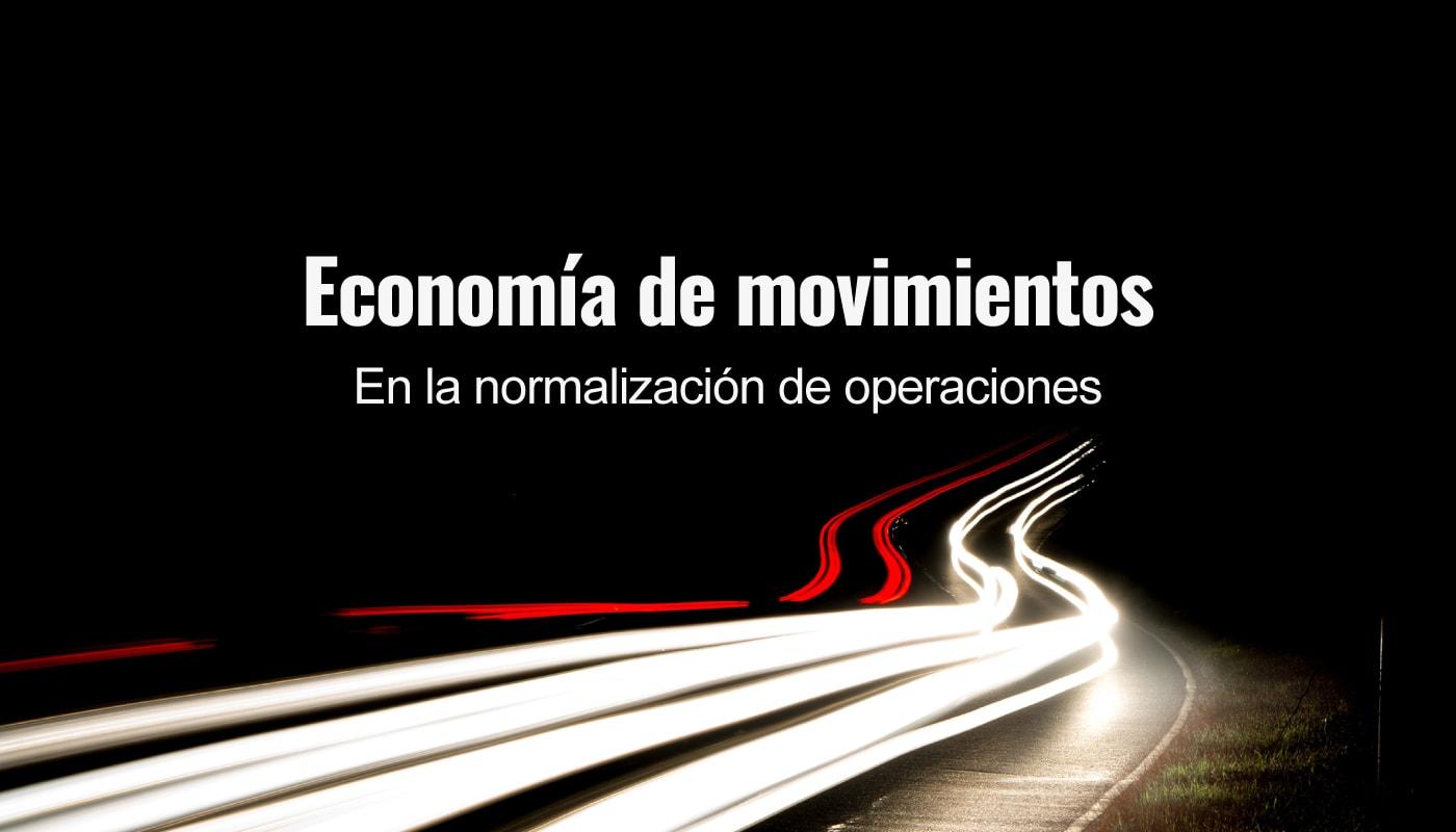 Economía de movimientos