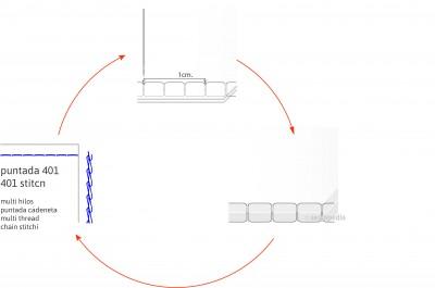 puntos clave costura ajustar costura tension largo puntada adjust seam seam lenght