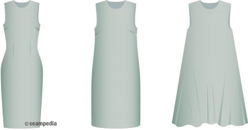 Holgura en su justa medida vestido prenda industria moda confección