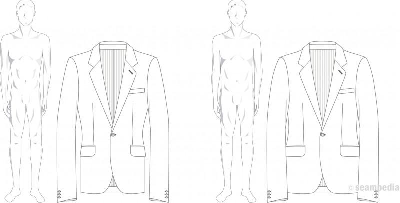 drop in fasion hombre man americana suit jacket
