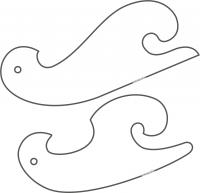 Curva francesa de lencería