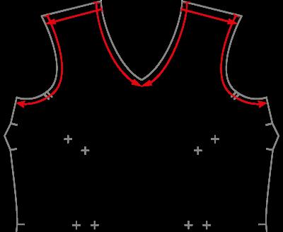 Direccionalidad de la costura