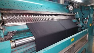 Maquina de tundido de tejido