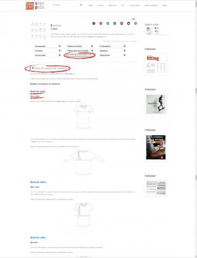 Todo lo que ha de tener una camiseta 7 Puntos de control de medidas