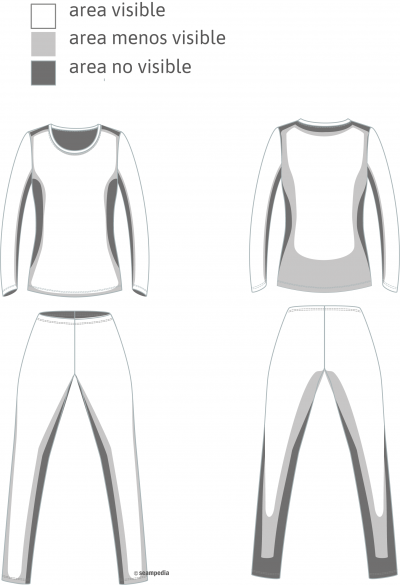 La clasificación de defectos de prenda areas visibles del pantalón para la AQL prenda general