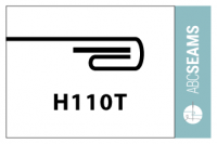 Double Fold Hem with Tape