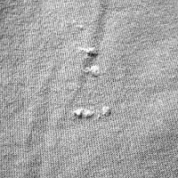 mota en el tejido